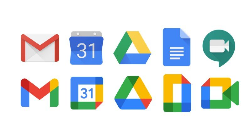 Google symbols change design