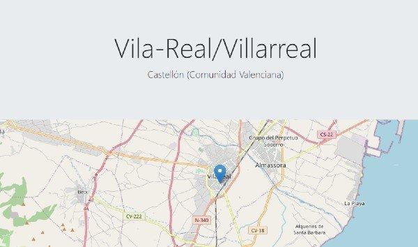 Interactive map of Quecovid.es