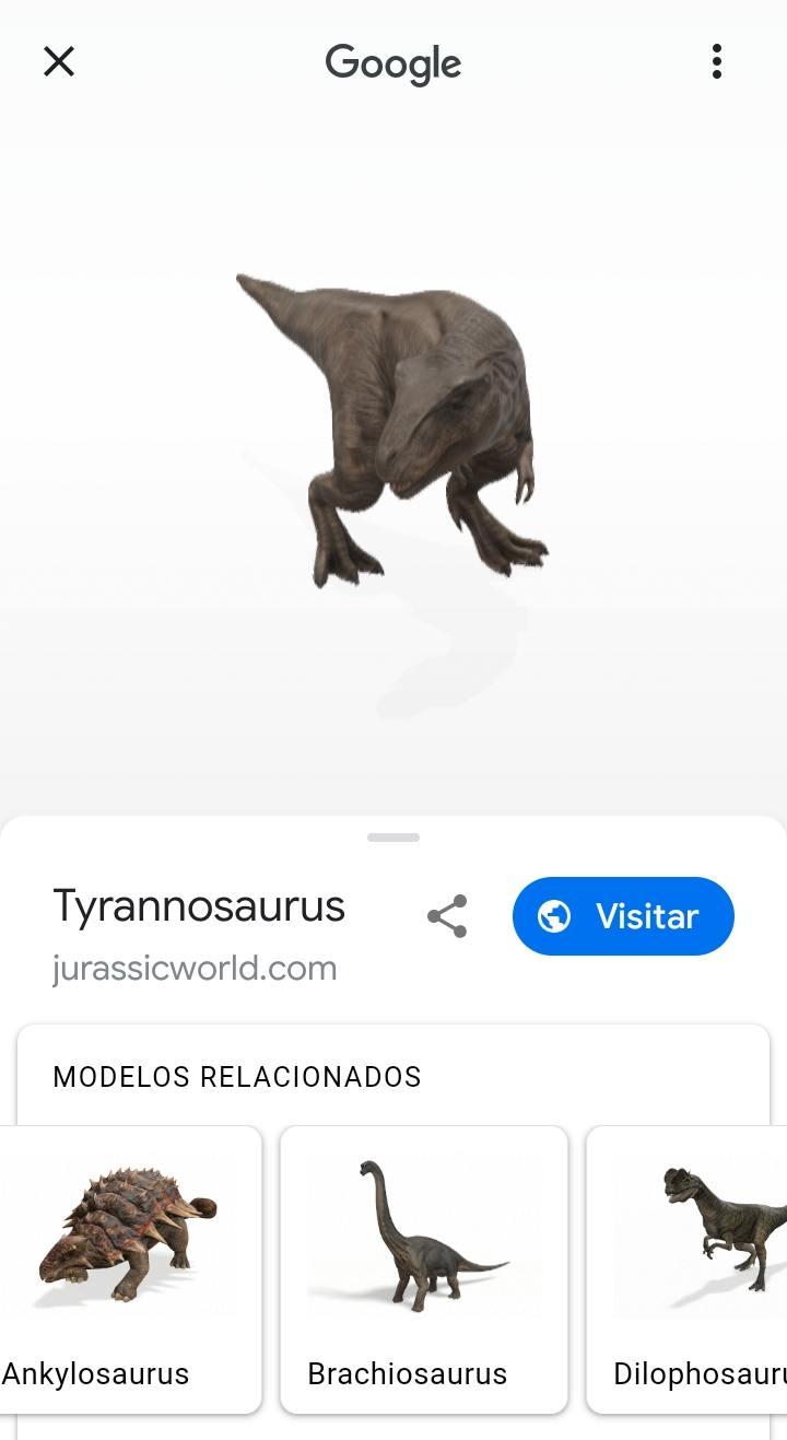 Google dinosaur