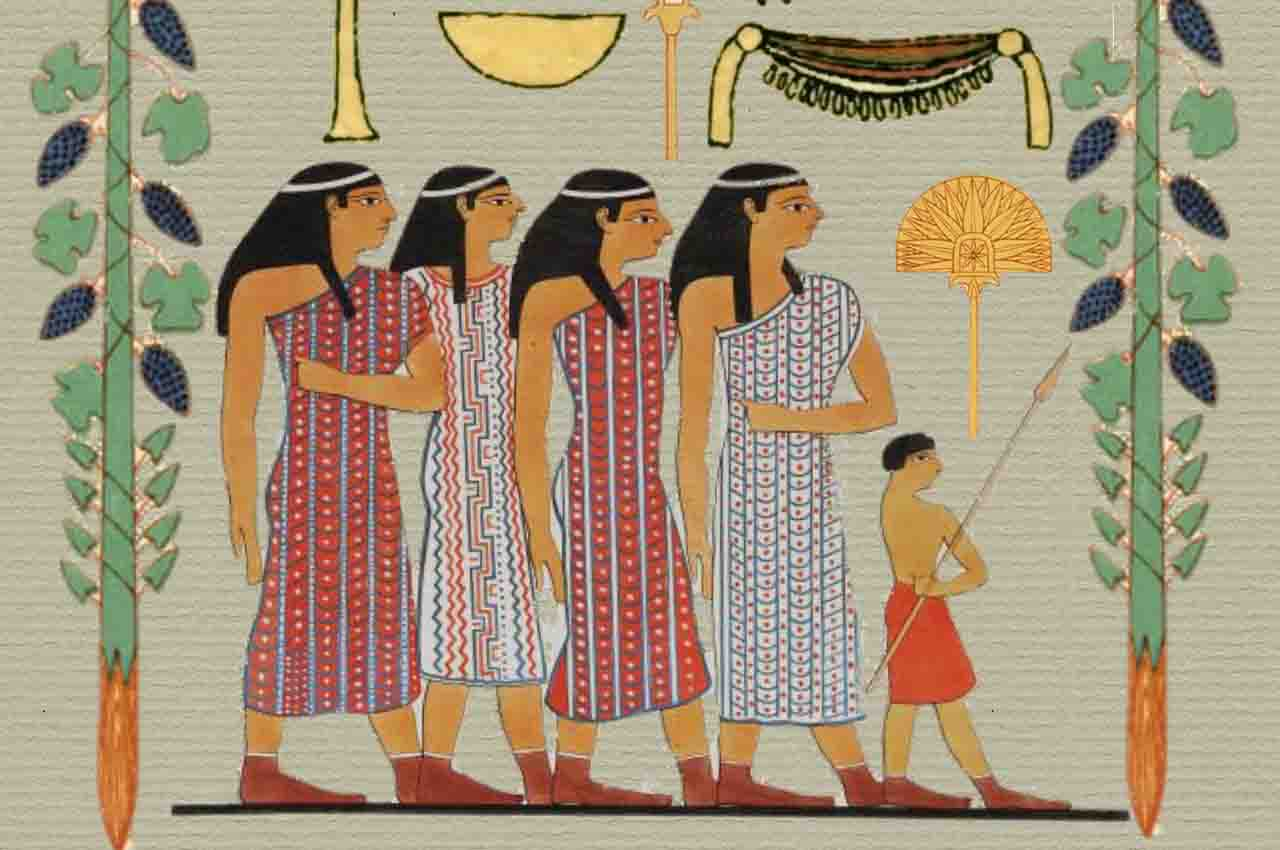 Cohabitation was accepted in ancient Egypt