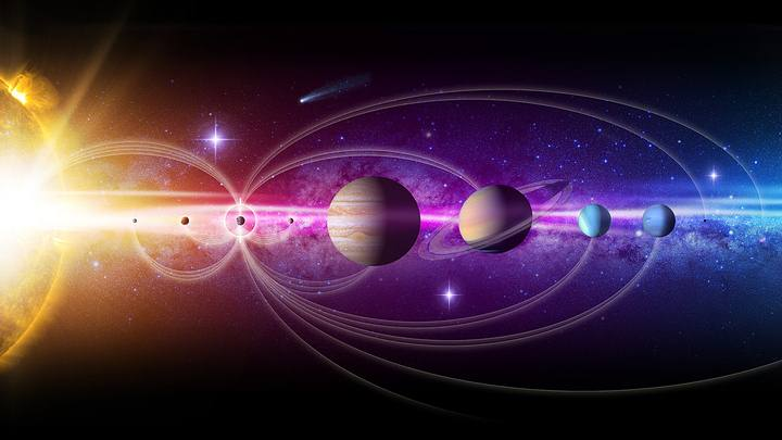 The highways of the solar system would allow faster travel through space.