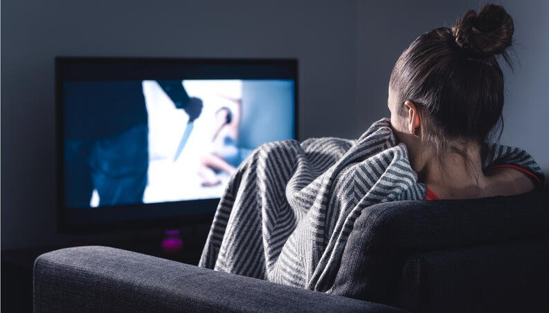 Horror films make us lose our fear of real life, according to a study.