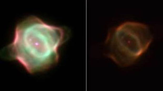 The nebula that has disappeared into space, the Manta Ray Nebula, has become extinct.