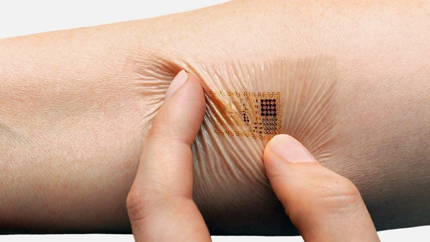The electronic skin of the future offers surprising applications and durability.