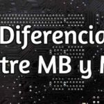 What is the difference between megabits (Mb) and megabytes (MB)
