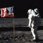 The second flag on the moon comes from China