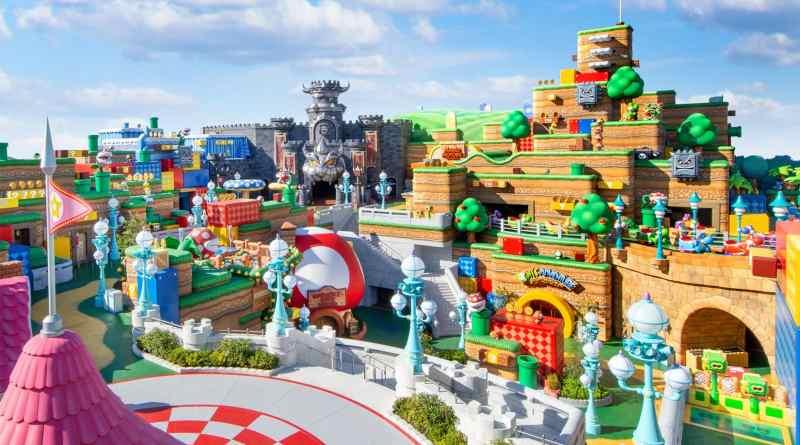 Super Mario World theme park