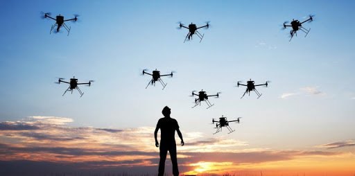 Drones can help us in many ways.  The swarm of drones roaming the forest is proof of that.