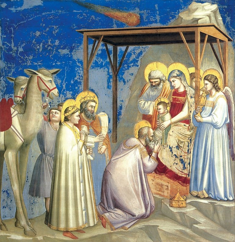 "The Star of Bethlehem"" by Giotto."