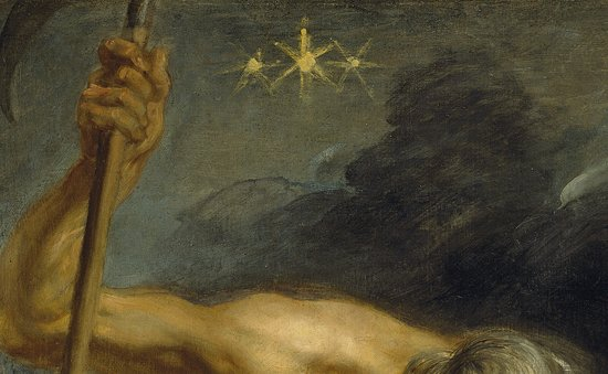 "Detail from ""Saturn Devouring His Children"" by Rubens."