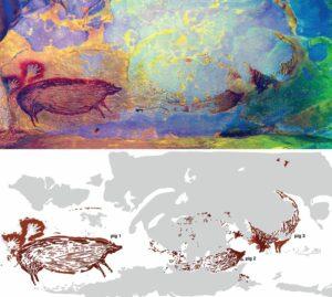 El dibujo de animales más antiguo del mundo. Artista anónimo, por supuesto.