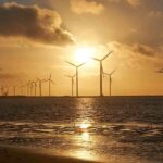 Offshore wind farms cause less environmental impact than onshore wind farms