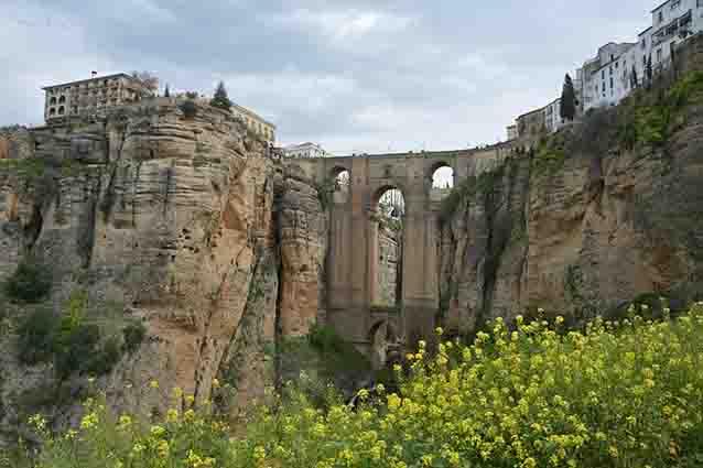Famous bridge of Spain