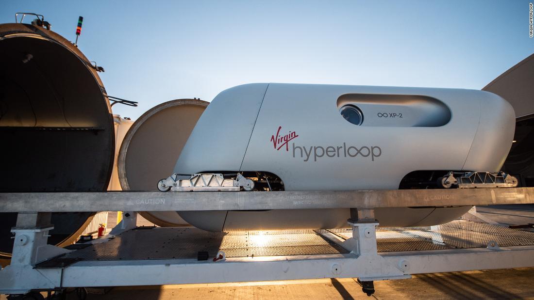 Soon we will be traveling in capsules at 1200 kilometers per hour.