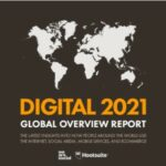 Inform Digital 2021 of We Are Social y Hootsuite