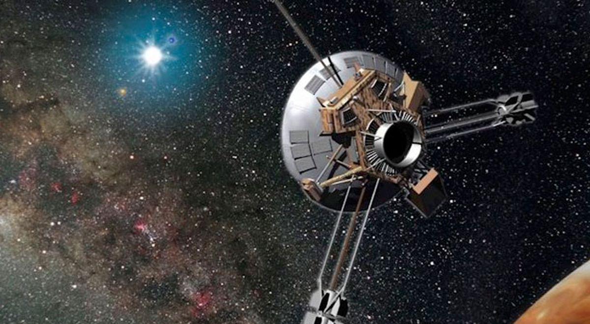 The Pioneer 10 probe, lost 18 years ago, is drifting further away.