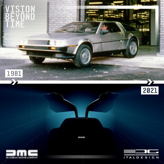 The return of the DeLorean is a fact.  When will it happen?