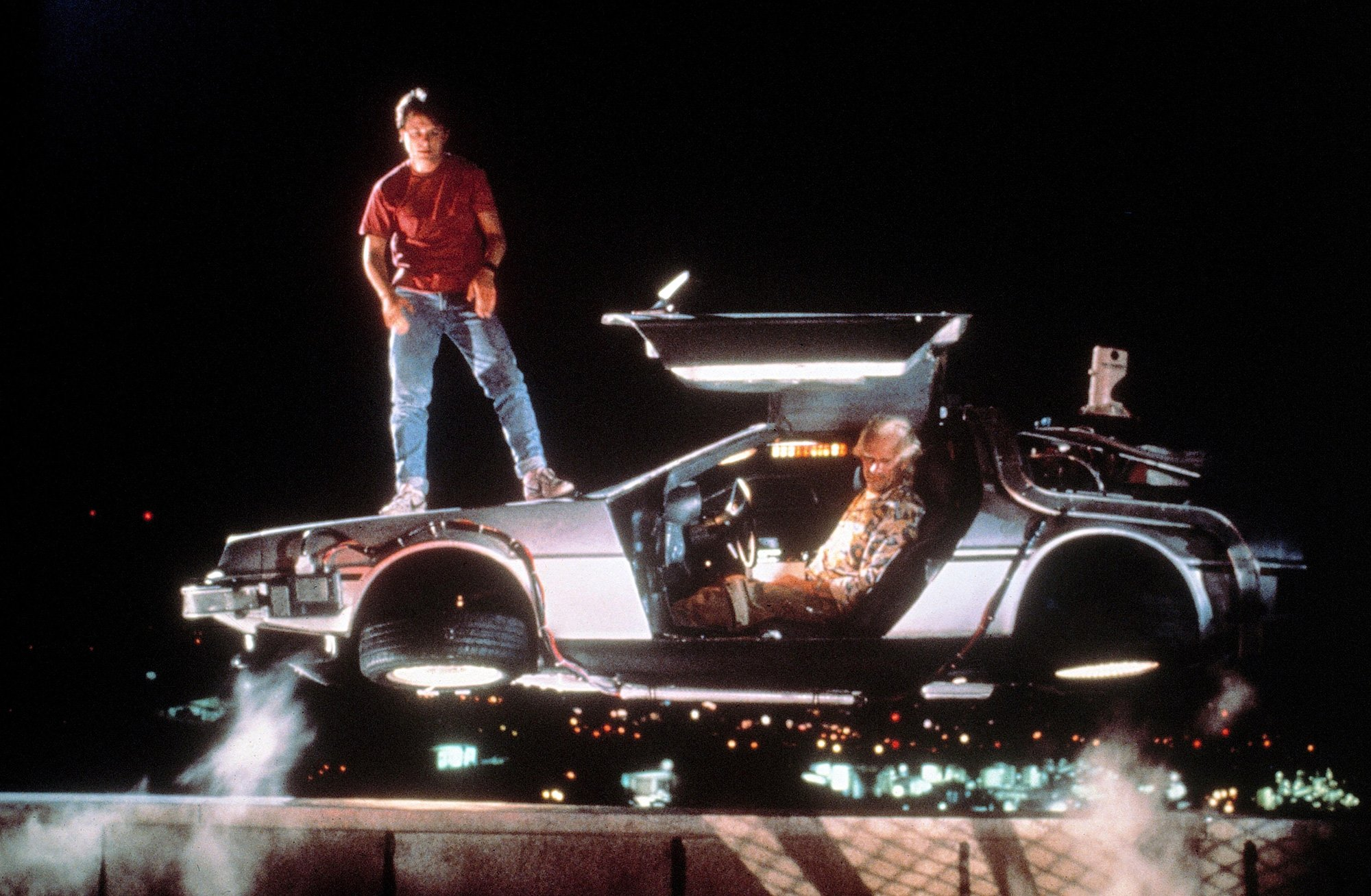 The DeLorean model became famous thanks to the film Back to the Future.