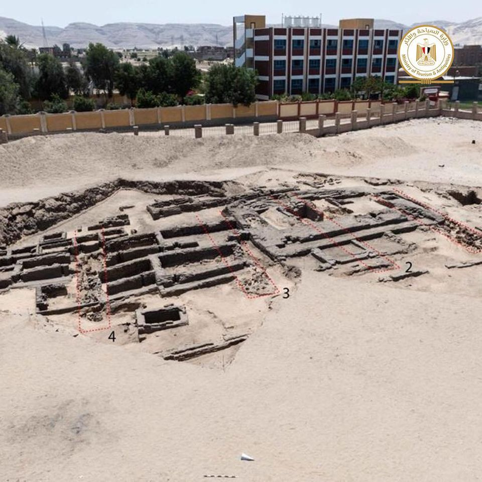 The layout of the facility was rediscovered in recent excavations.