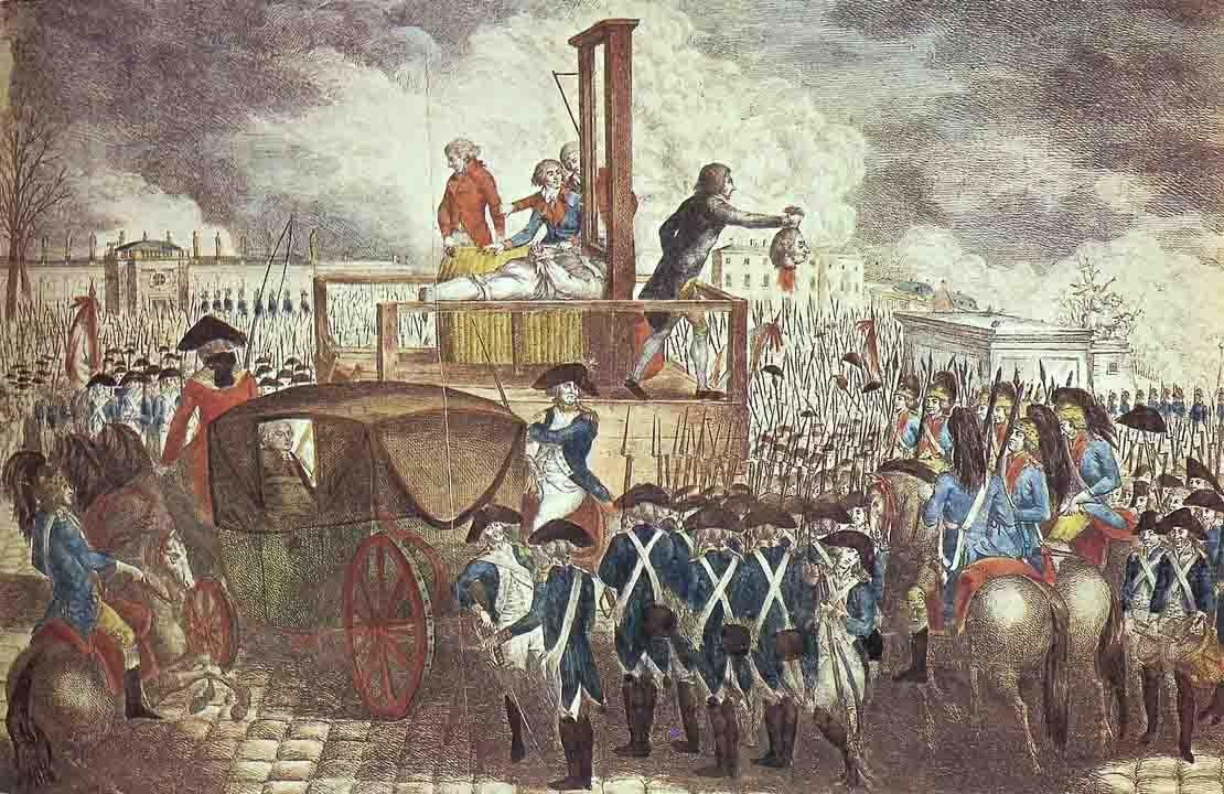 Louis XVI  Killed on the guillotine