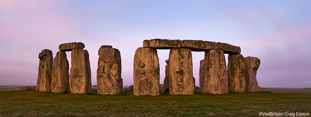 Stonehenge actually started in Wales after extensive research.