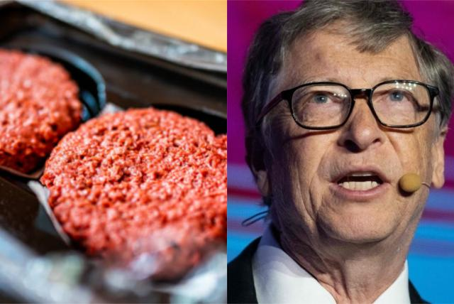Bill Gates suggests consuming only synthetic meat for synthetic countries.