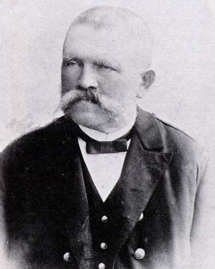 Portrait of Alois Hitler, Adolf's father.