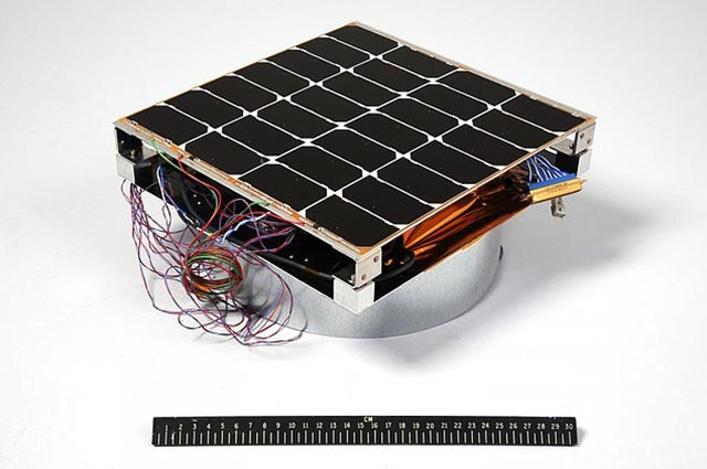 Solar panel in the room 30cm x 30cm