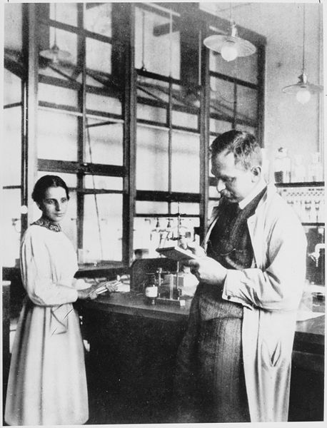 """A famous example of the """"Matilda effect"""" are Lise Meitner and Otto Hahn.  They worked together, only he received the Nobel Prize."""