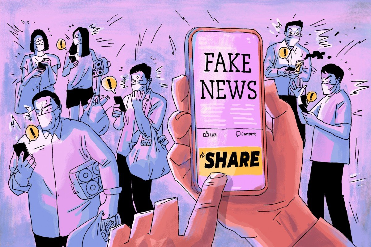 People are more motivated to spread the wrong news when it reinforces their previous beliefs.