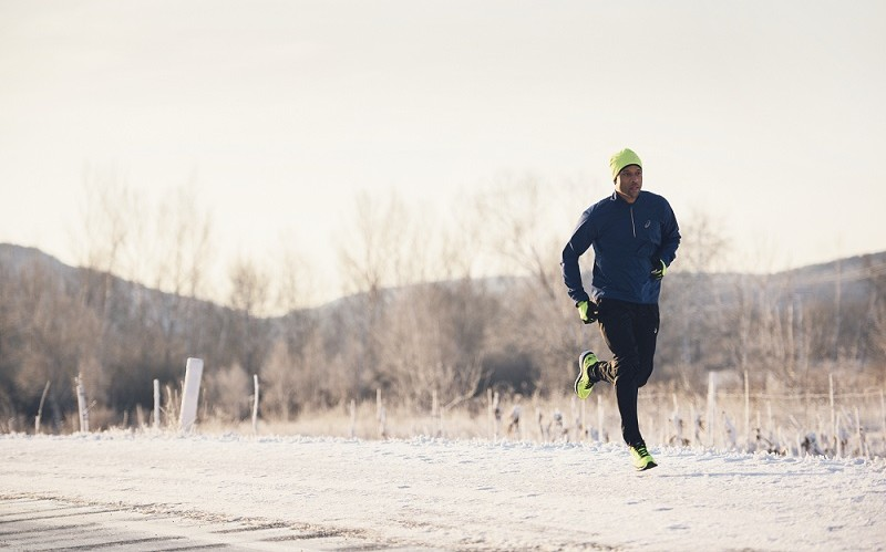 You already have a good reason to run in the snow.