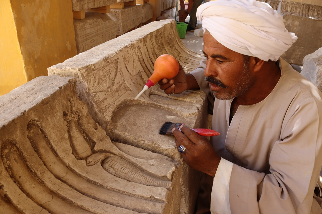 Archaeologists from different countries took part in the excavations.