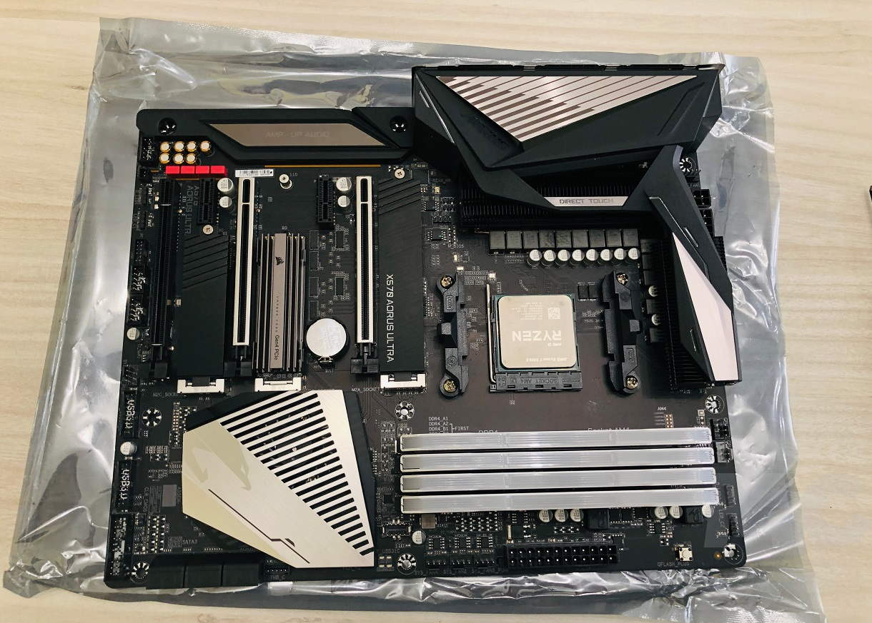 Motherboard with Ryzen 5000