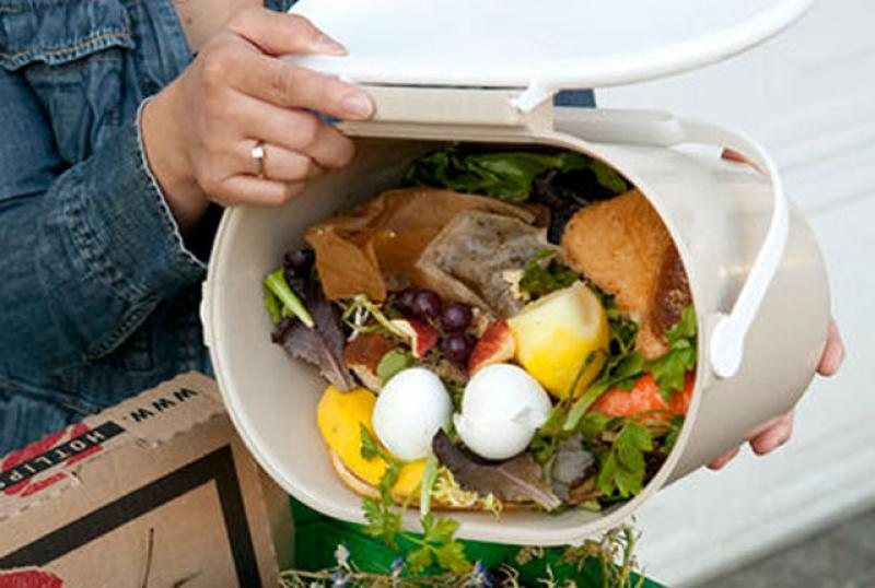 Most of this waste occurs in households.