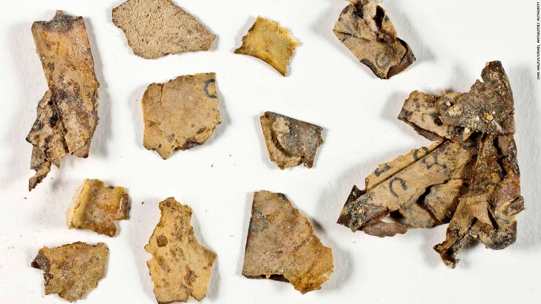 The found fragments of the Dead Sea Scroll caused a sensation in Israel.