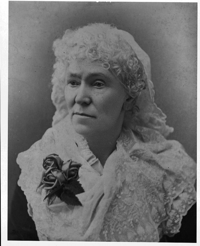 """Matilda Joslyn Gage gives the """"Matilda Effect"""" her name.  She was one of the first to denounce the invisibility of women in science."""