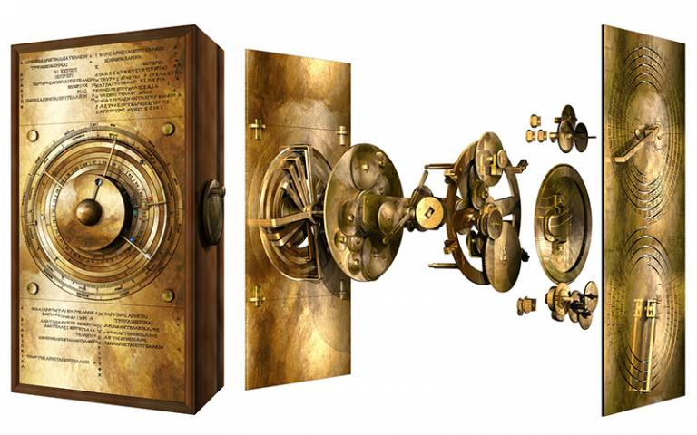 The secrets of the Antikythera Mechanism continue to be revealed.  One day we will all meet.