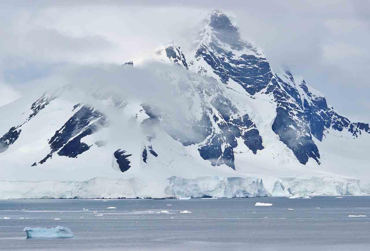 Volcanoes in Antarctica