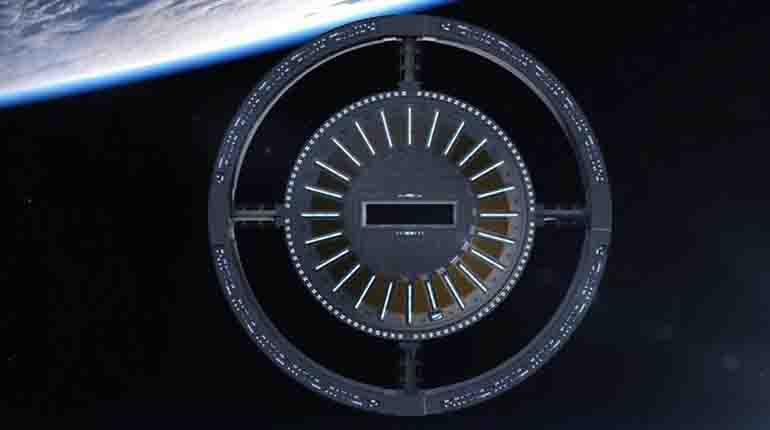 Rings of the first space hotel