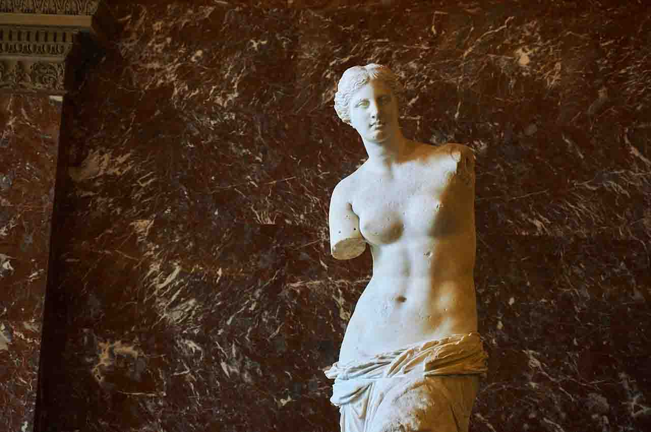 Artworks from the Louvre Museum