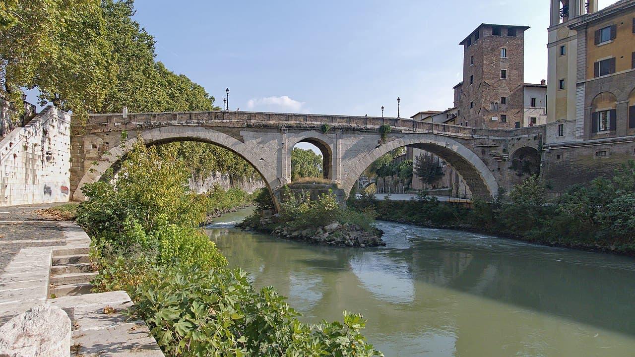 Fabricio Bridge is one of the oldest Roman bridges ... and it's intact.