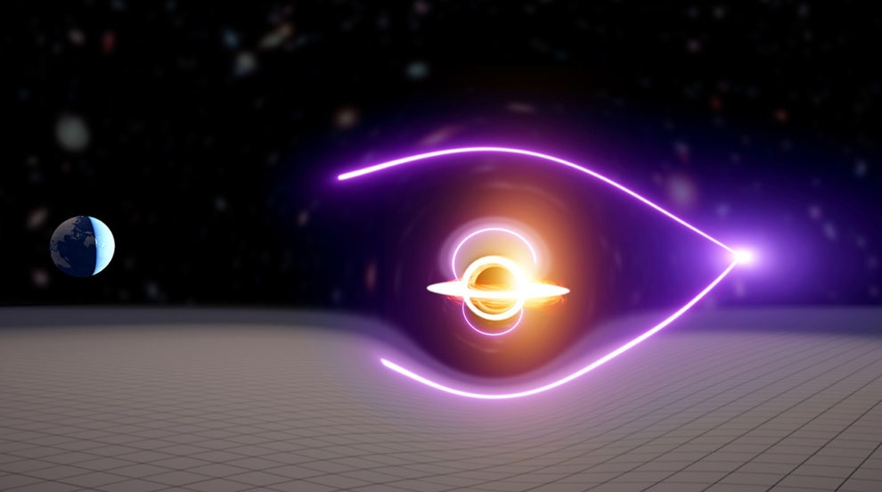 This black hole is in our galaxy.