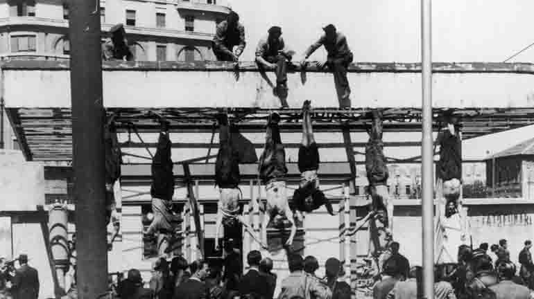 Execution of Benito Mussolini