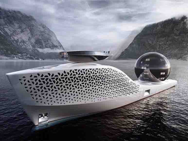 nuclear mega-ship