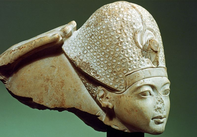 Egyptian noseless statues are an ancient mystery.
