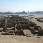 The lost city under the desert