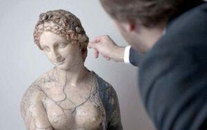 La obra que Leonardo Da Vinci no esculpió, el busto de Flora.