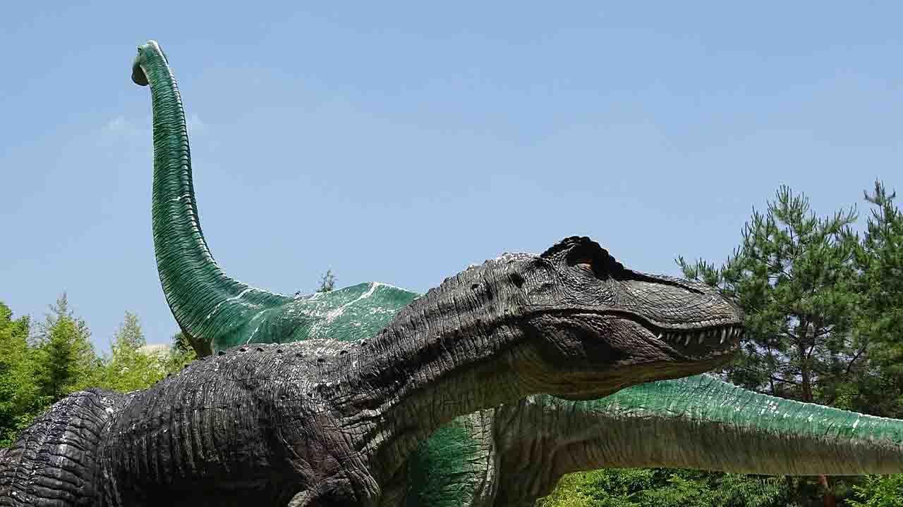 carnivorous and vegetarian dinosaurs