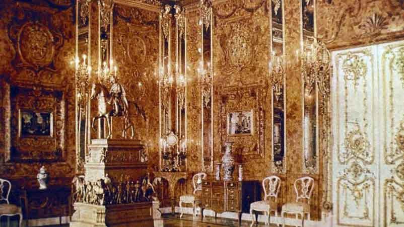 Original amber chamber