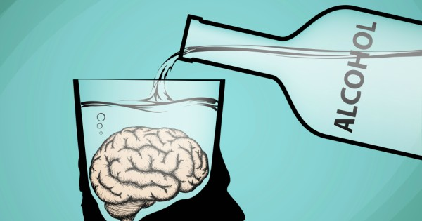 Drinking alcohol can make the brain shrink.  We are very sorry.